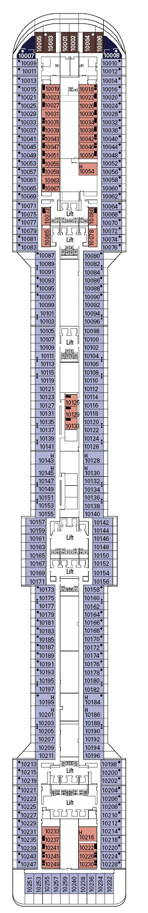 Msc Splendida Deck Plans  Deck 0 Iglucruisecom