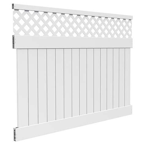 pvc lattice top fence    rona