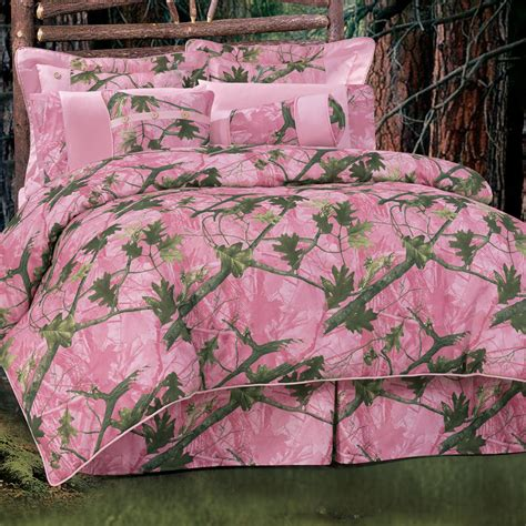Pink Camouflage Comforter Sets: Queen Size Queen Size Pink