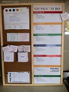 Love This Idea It 39 S A Homemade Chore Chart Pocket