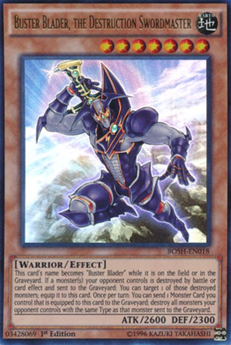 Yugioh New Buster Blader Deck by Yu Gi Oh Buster Blader Returns As The Destroyer