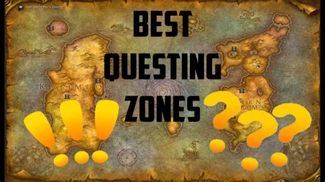 wow zones classic questing