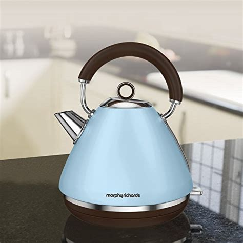 morphy richards kitchen accessories duck egg blue kettles 7854