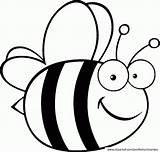 Coloring Honey Pages Bees Bee Printable Popular sketch template
