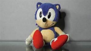 1993 Sonic The Hedgehog Plush Toy