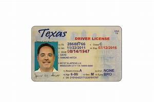 texas temporary drivers license template car interior design With texas temporary drivers license template