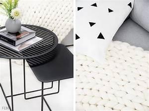 Chunky Knit Decke : cosy mit chunky knit decke tee und tischchen fein und fabelhaft ~ Whattoseeinmadrid.com Haus und Dekorationen