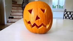 Comment Faire Une Citrouille Pour Halloween : comment faire une citrouille d 39 halloween youtube ~ Voncanada.com Idées de Décoration