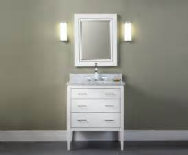manhattan 30 inch contemporary bathroom vanity white finish