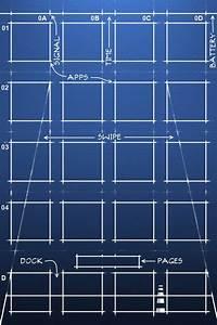 Iphone Blueprint Wallpaper