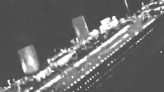 A Real Picture Of The Titanic Sinking by Real Titanic Sinking Footage Youtube