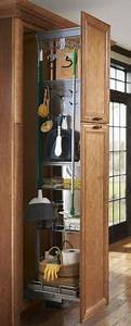 Kitchen Cupboard Lights Sliding Home Organizers For Mops And Brooms Space Saving