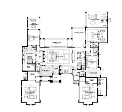 New American Floor Plans by The New American Home 2018 Blends 21st Century And
