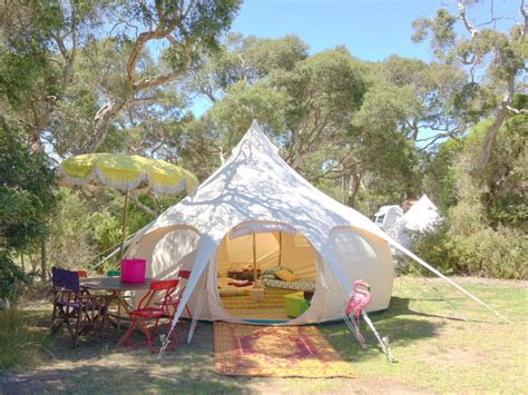 Not into camping? Try glamping instead   The New Daily