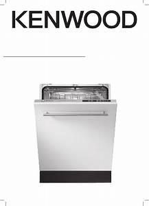 Kenwood Kid45s16 Dishwasher Installation Instructions