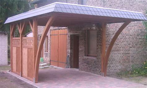 Der Klassiker Der Flachdach Carport by Flachdach Carports Holzgaragen Als Individueller Bausatz