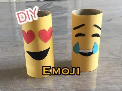 leuke l wc diy emoji met papier wc rol knutselen voor kinderen