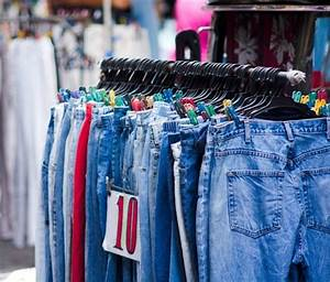 Buying, Second, Hand, Clothing