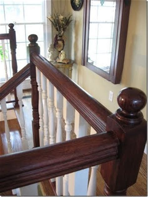 restaining banister 1000 images about stair railing on wrought