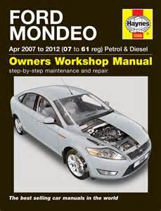 2000 ford focus repair manual ford mondeo petrol diesel apr 07 12 07 to 61