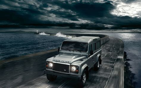 Land Rover Defender Car Wallpaper Wide Wallpaper