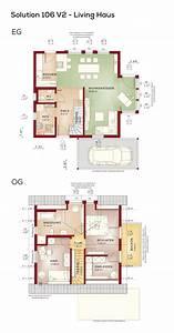Haus 100 Qm : grundriss einfamilienhaus mit carport und satteldach ~ Yasmunasinghe.com Haus und Dekorationen
