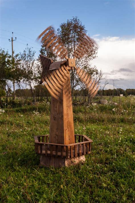 wooden garden windmill diy pinterest gardens
