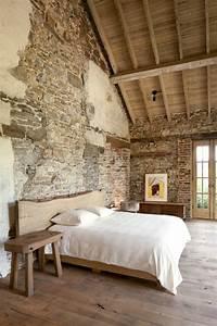 le mur en pierre apparente en 57 photos With couleur pour mur salon 10 specialiste francais papier peint mur parement salon