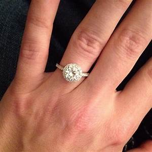 what wedding band to go with my e ring weddingbee With country girl wedding rings