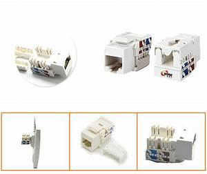 Network Solution Rj45 Cat 6a   Cat 6   Cat5e  Rj11 8p8c Utp