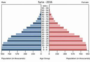 Syria Age structure - Demographics