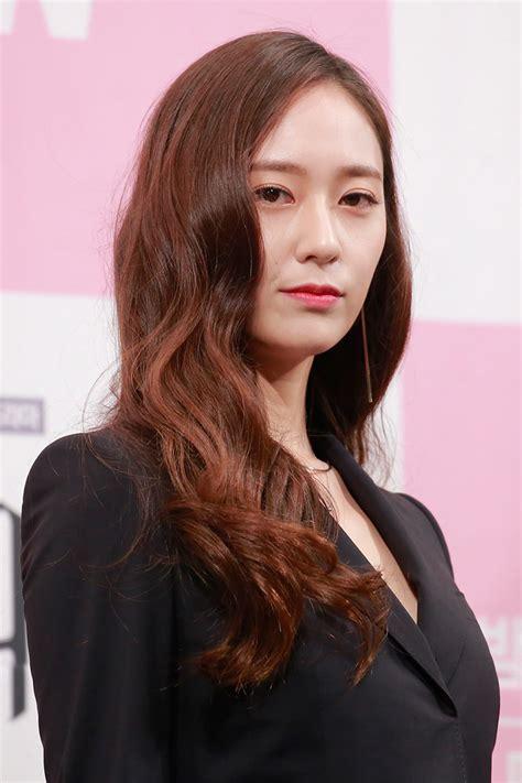 hairstyles lazy girls  steal  korean actress krystal jung cleo singapore