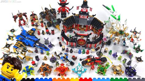 lego ninjago legacy spinjitzu sets wrap  viewer