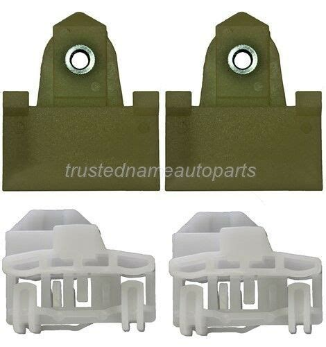 door window sash channel guide glass retainer clips kit pcs front left ebay