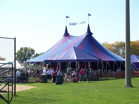 armbruster tent maker midnight circus tent in