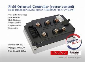 Motor Controllers Cruise Controller  Hub Motor Sine Wave