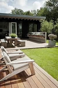 Balkon Liege Für Zwei : 60 ideen wie sie die terrasse dekorieren k nnen ~ Markanthonyermac.com Haus und Dekorationen
