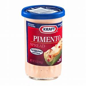 Kraft Pimento Spread with Philadelphia Brand Cream Cheese ...