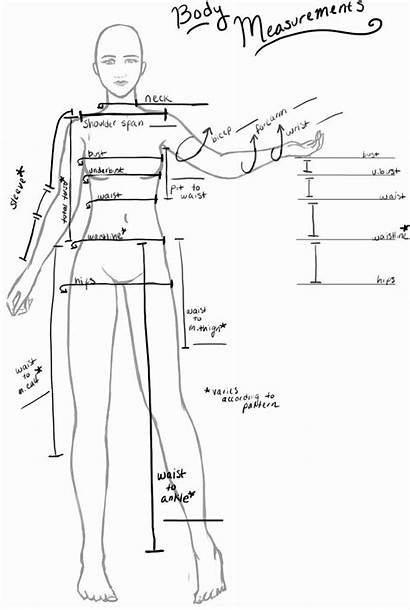 Chart Sewing Template Measurement Measurements Shootersjournal Projects