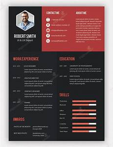 creative professional resume template free psd resume With creative cv templates