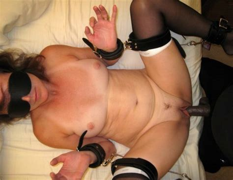 wife blindfolded at party sex