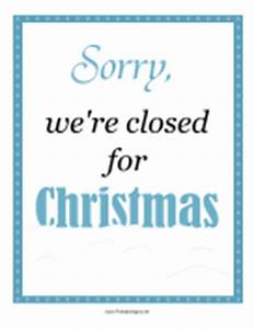 open closed sign template - printable signs