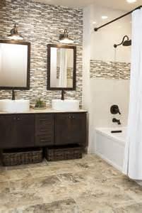 bathroom tile color ideas 35 grey brown bathroom tiles ideas and pictures