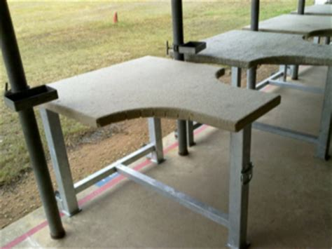 woodwork shooting bench plans steel  plans