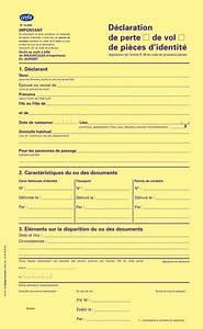 Déclaration De Perte Du Permis De Conduire : d claration de perte ou de vol de pi ce d 39 identit passeport carte nationale d 39 identit ~ Medecine-chirurgie-esthetiques.com Avis de Voitures