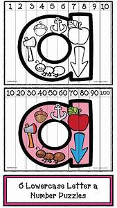 Classroom freebies alphabet number puzzles for Number and letter puzzles