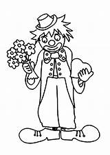 Circus Coloring Pages Simple Children sketch template