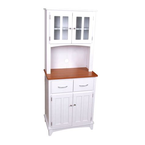 tall cabinet with drawers white wooden painted brook tall microwave cabinet with