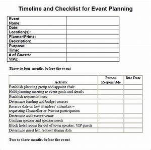 13 event planning checklist template free sample With event planning to do list template