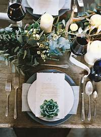 place setting ideas 20 Impressive Wedding Table Setting Ideas - MODwedding